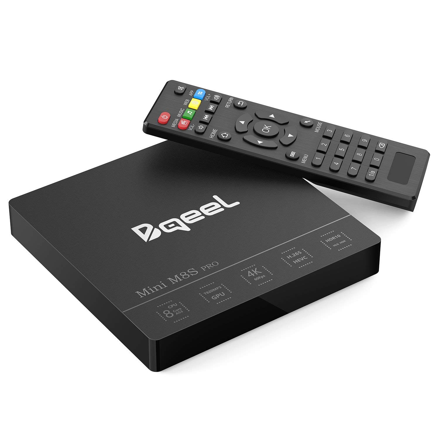 BQEEL M8S PRO Android 7.1 TV BOX 3GB RAM & 32GB ROM